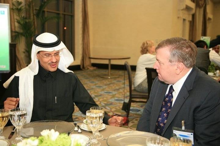 Judd and HRH Prince Abdulaziz Bin Salman Al Saud